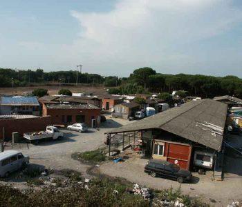 campo rom pisa