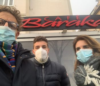 Marcheschi sgombero Ex Cafè Baraka