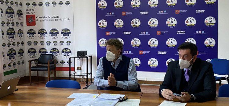 Conferenza stampa in Regione Torselli e Marcheschi