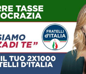 sostieni fratelli d'Italia